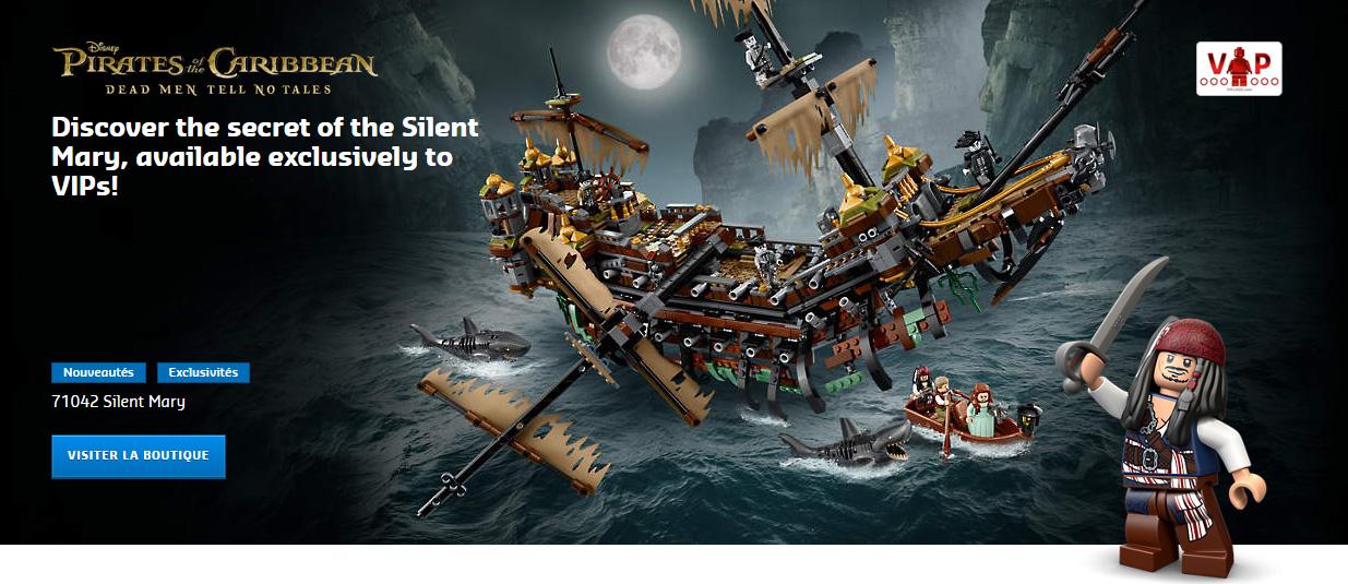 lego pirates des cara bes 71042 silent mary et brickheadz. Black Bedroom Furniture Sets. Home Design Ideas