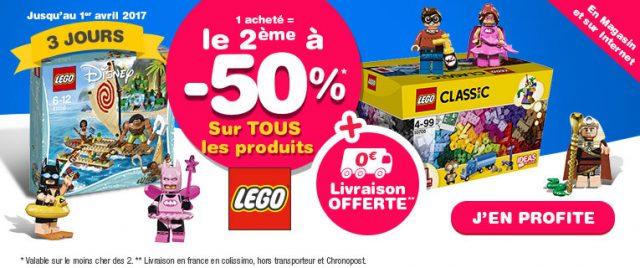 Promotion Toys R Us LEGO