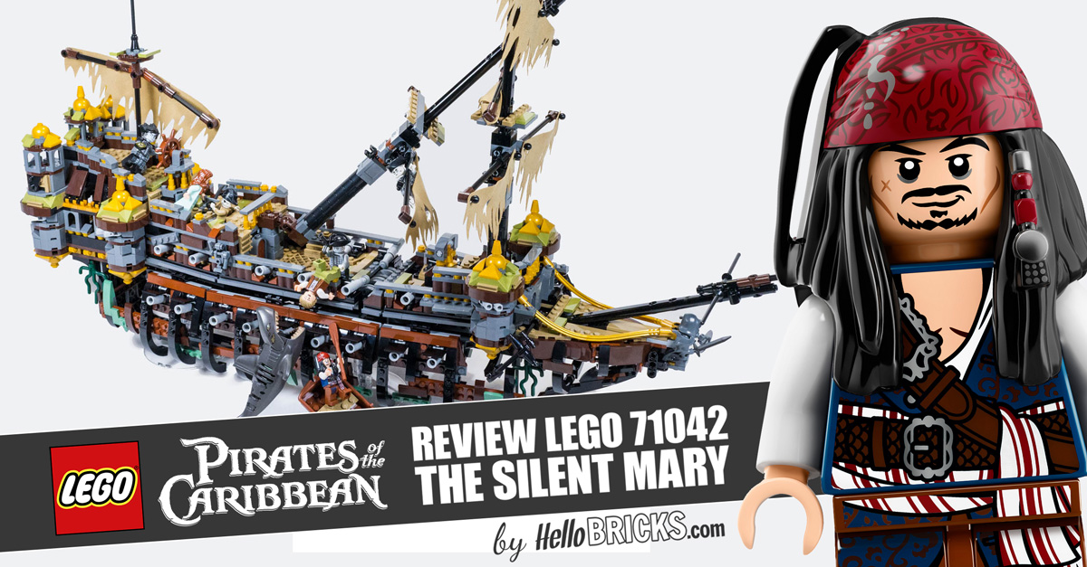 review lego 71042 pirates des cara bes silent mary. Black Bedroom Furniture Sets. Home Design Ideas