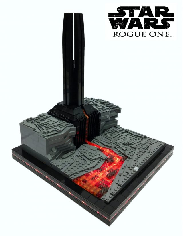 Star Wars Rogue One Chateau de Dark Vador (Mustafar)