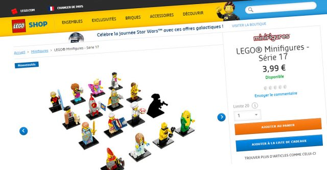 LEGO 71018 Collectible Minifigures Series 17 Shop