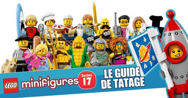 LEGO 71018 Collectible Minifigures series 17 - Guide de tatage HelloBricks