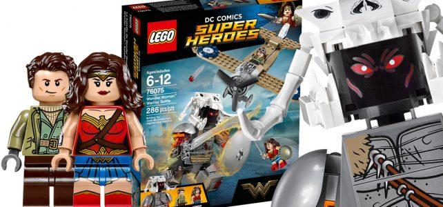 LEGO 76075 Wonder Woman Warrior Battle disponible sur le Shop@Home