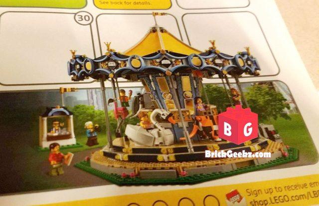 LEGO Creator Expert 10256 Fairground Carousel