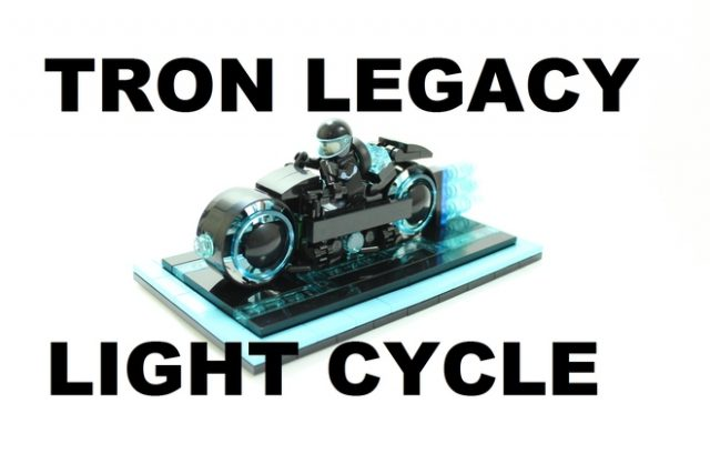 LEGO Ideas  10000 votes Tron Legacy Light Cycle