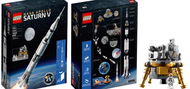 LEGO Ideas 21309 NASA Apollo Saturn V : déjà disponible
