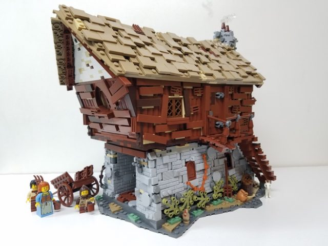 LEGO Ideas Medieval Watermill