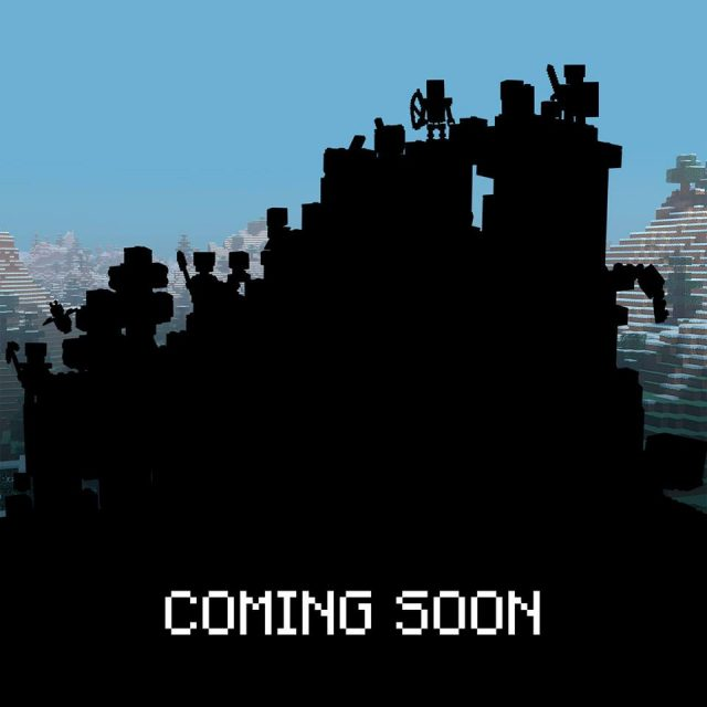LEGO Minecraft 21137 The Mountain Cave teasing