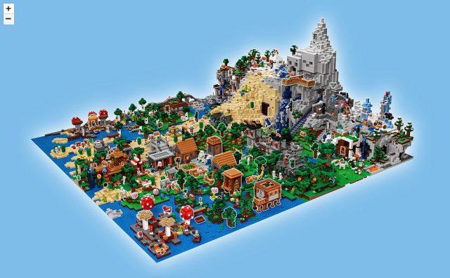 LEGO Minecraft map