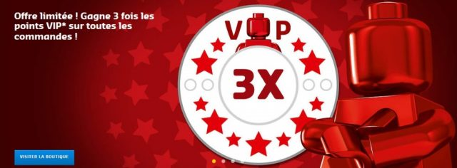 LEGO Points VIP triples