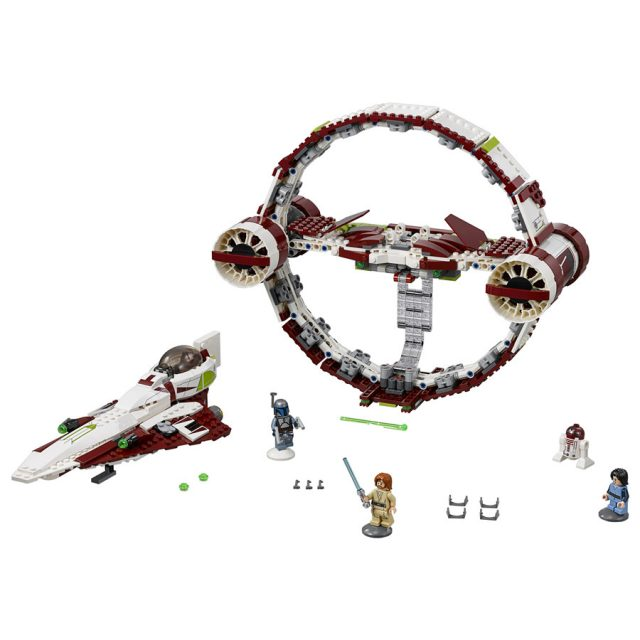 LEGO Star Wars 75191 Jedi Starfighter with Hyperdrive