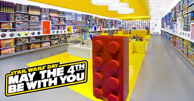 LEGO Store Star Wars Day May the 4th
