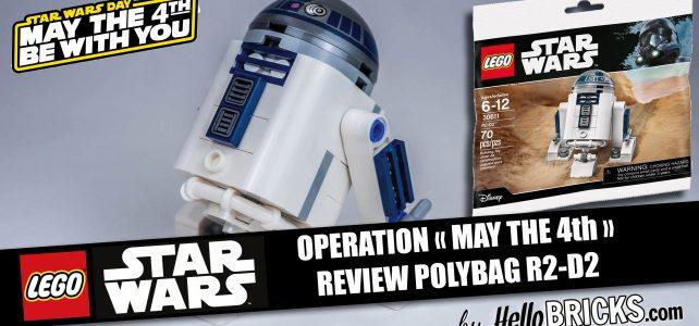 Lego 30611 Starwars Polybag R2D2