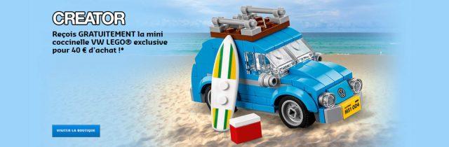 Promo LEGO 40252 Mini Volkswagen Beetle