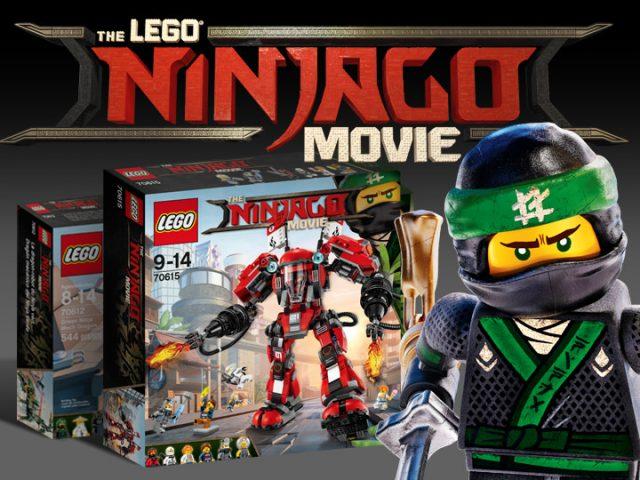 The LEGO Ninjago Movie sets - LEGO 70615 Kai's Fire Mech