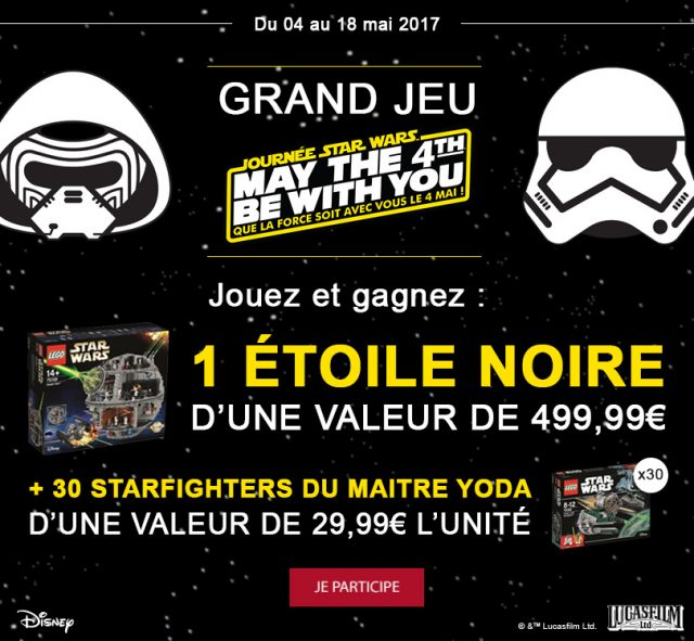 Concours Picwic LEGO Star Wars
