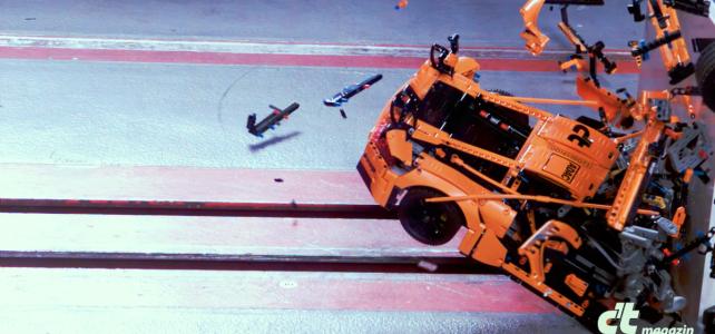 Crash test Porsche 911 GT3 RS LEGO Technic 42056
