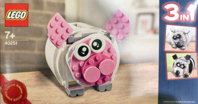 LEGO 40251 Tirelire Piggy Bank
