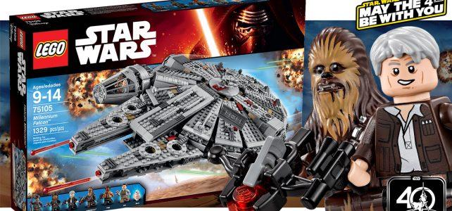 LEGO 75105 Millennium Falcon Star Wars 4 mai