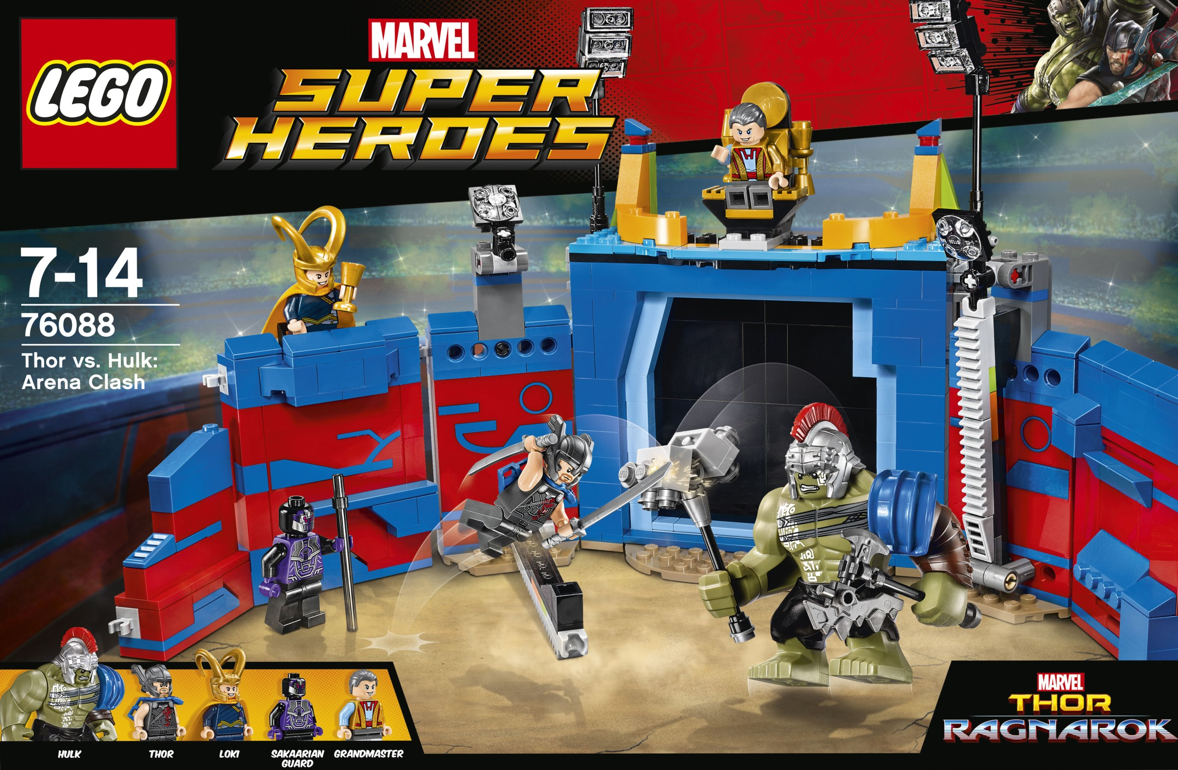 Thor Ragnarok : premiers visuels officiels des deux sets
