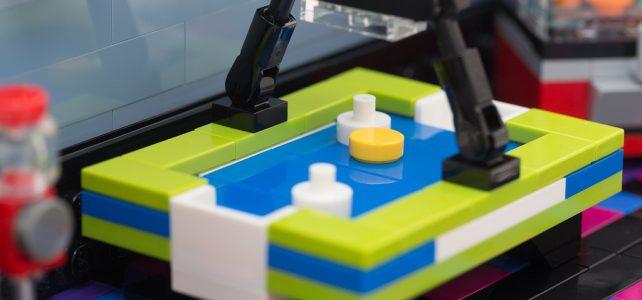 Air Hockey et salle d'arcade modulaire