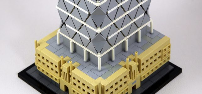 LEGO Architecture Hearst Tower New York