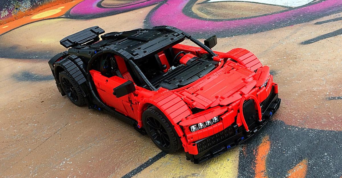 supercar bugatti chiron hellobricks blog lego. Black Bedroom Furniture Sets. Home Design Ideas