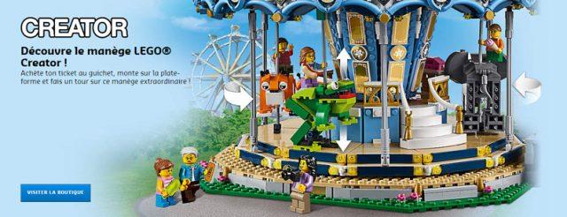 LEGO Creator Expert 10257 Manege