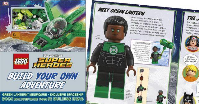LEGO DC Comics Build Your Own Adventure Green Lantern John Stewart