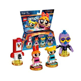 LEGO Dimensions 71346 The Powerpuff Girls Team Pack