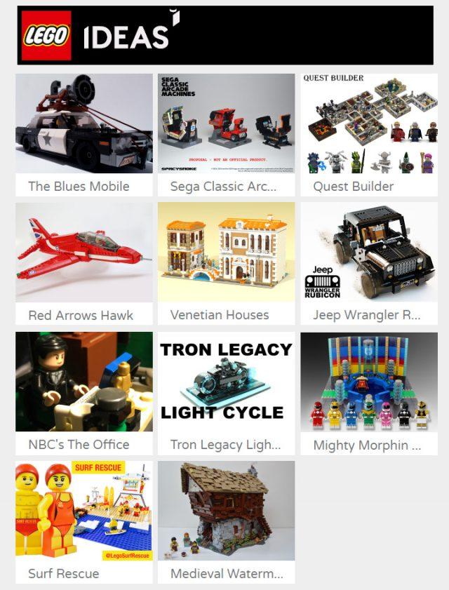 LEGO Ideas 2017 Round #1