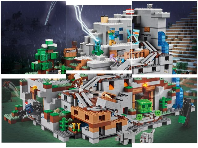 LEGO Minecraft 21137 The Mountain Cave 6