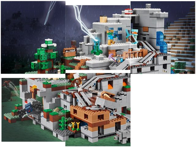 LEGO Minecraft LEGO 21137 The Mountain Cave