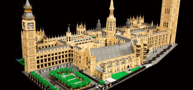 Plus de 50000 briques pour le Palais de Westminster