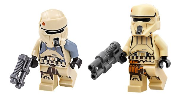 LEGO Scarif Stormtroopers
