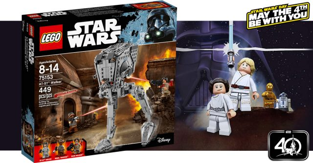 Star Wars May the 4th LEGO 75153 AT-ST Walker