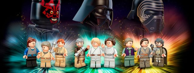 LEGO Star Wars minifig Luke Skywalker vieux