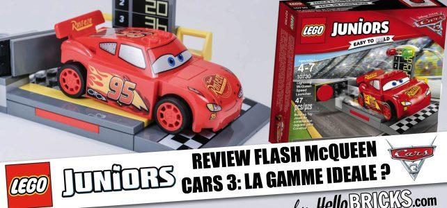 REVIEW Lego Cars 3 - Juniors - Flash McQueen