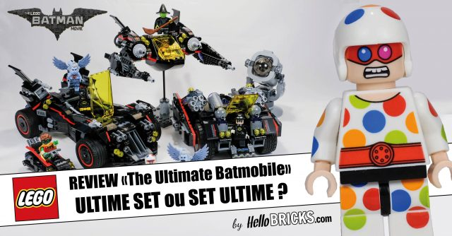 THE LEGO BATMAN MOVIE 70917 - The ultimate Batmobile Review