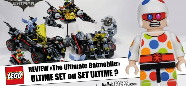 LEGO BATMAN MOVIE 70917 - The ultimate Batmobile Review