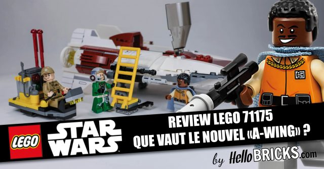 LEGO 75175 review - Star Wars A-Wing Starfighter