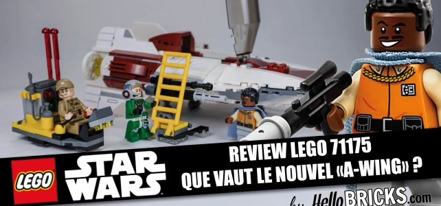 Lego 75175 review - StarWars A-Wing Starfighter