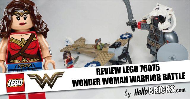 Lego 76075 Review wonder woman