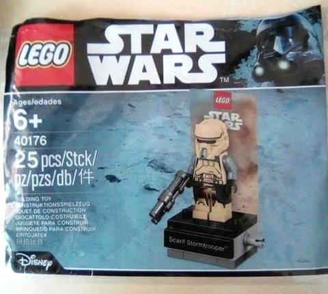 Polybag LEGO Star Wars 40176 Scarif Stormtrooper