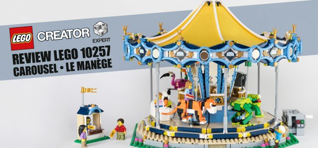 Review LEGO 10257 Carousel Creator Expert (Le Manege)