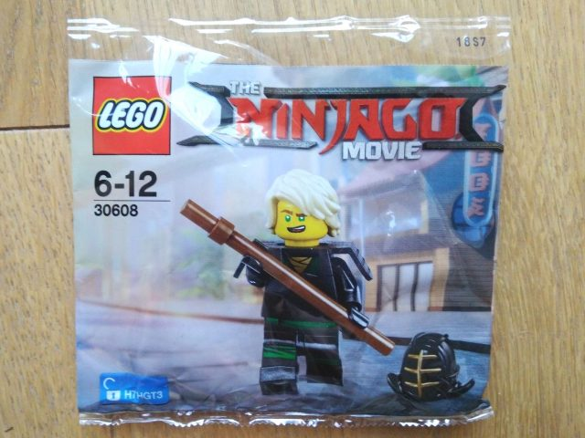 The LEGO Ninajgo Movie Polybag Lloyd LEGO 30608