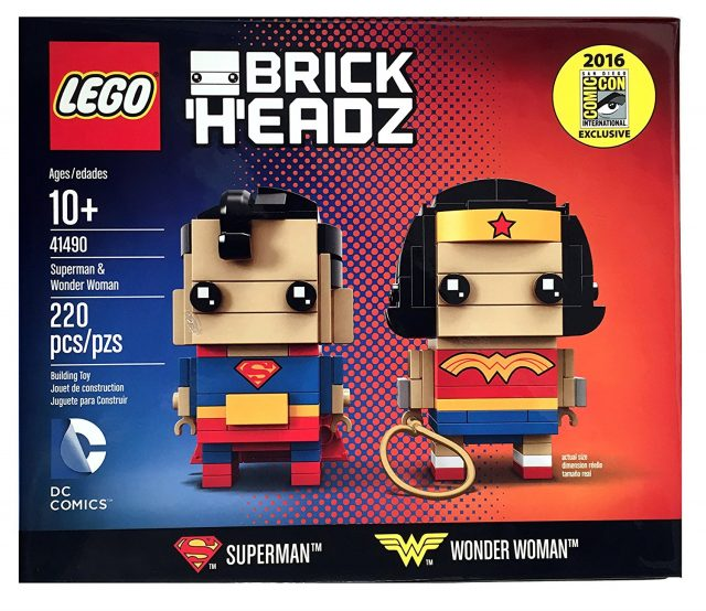 LEGO 41490 BrickHeadz Wonder Woman