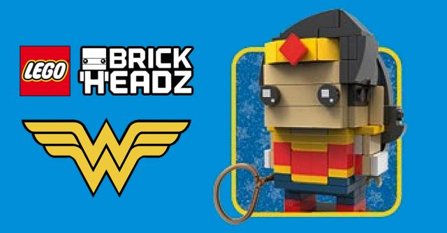 LEGO BrickHeadz Wonder Woman