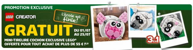 LEGO Creator 3-en-1 40251 Mini Piggy Bank