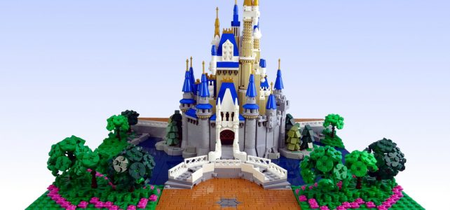 Disney Castle microscale : It's a Small World…